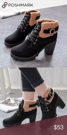 """⭐️ OJDC Plush Ankle Boot AVAILABLE SOON ❗️COMMENT BELOW TO BE NOTIFIED WHEN THIS ITEM IS AVAILABLE FOR PURCHASE 