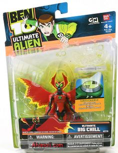 ben 10 ultimate alien toys | Ben 10 Ultimate Big Chill Toy Ultimate Alien UA Action Figure | Flickr ...