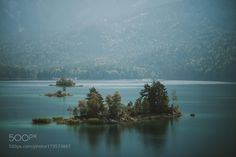 Islands in a Mountain Lake by regnumsaturni #Landscapes #Landscapephotography #Nature #Travel #photography #pictureoftheday #photooftheday #photooftheweek #trending #trendingnow #picoftheday #picoftheweek