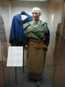 National Museum in Helsinki, Finnish early medieval dress