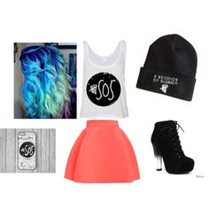 """five seconds of summer"" by kaelarabbit on Polyvore"