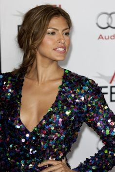 Eva Mendes #hair #beauty #celebrity