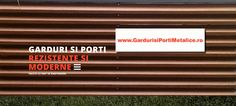 Producator de garduri si porti metalice rezistente si moderne Metal, Metals