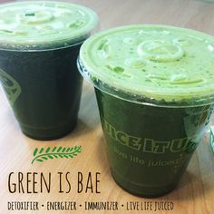 Get Hooked on Healthy Green Juice! Juice It Up!