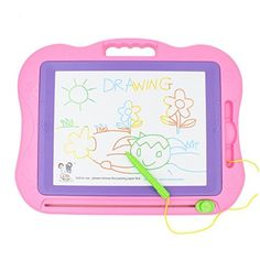 Holy Stone Magnetic Drawing Board Colorful Erasable Large Size Doodle Sketch >>> You can find more details at