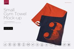 Gym Towel 4 Sizes Mock-up by mesmeriseme.pro on Business Brochure, Business Card Logo, Stickers Design, Gym Towel, Mockup Templates, Design Templates, Packaging, Branding, Creative Sketches
