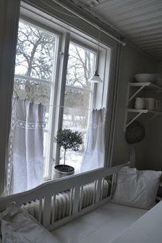 lovely Kitchen window curtains
