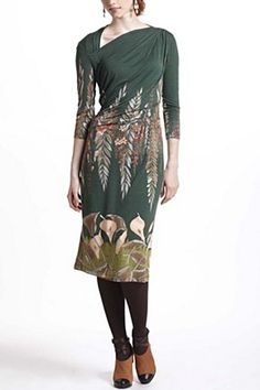 Dress up as an Art Nouveau hallway this Halloween: Calla Asymmetric Dress | Anthropologie.eu