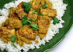 Spicy, Authentic Tofu Curry