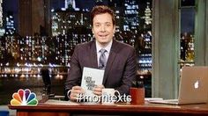 Jimmy Fallon shares the funniest tweets tweeted by his fans using Mom Texts hashtag....