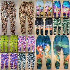 a6aa2a741fe7 Harajuku new fashion men/women's joggers pants 3D graphic print cartoon/ leopard/camouflage