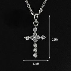 Crown Stefana Store - Elegant 925 Sterling Silver Radiant Cross, €30.00 (http://www.crownstefana.com/elegant-925-sterling-silver-radiant-cross/)