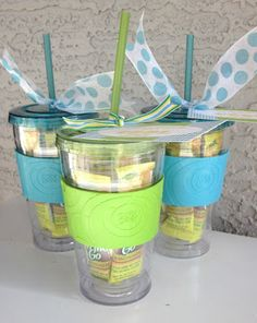 Its easy to get creative with your baby shower prizes! If you are planning on ha. - Its easy to get creative with your baby shower prizes! If you are planning on having kids at the sh - Baby Shower Game Gifts, Baby Shower Favors, Shower Party, Gifts For Bridal Shower Games, Baby Shower Gifts For Guests, Baby Shower Crafts, Bridal Shower Prizes, Bridal Showers, Prizes For Baby Shower