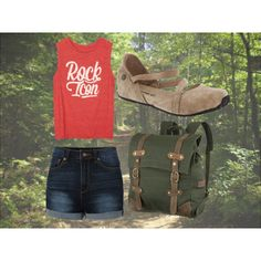 Let's take a hike with Mallory! by bearpawstyle on Polyvore featuring Bearpaw and United by Blue