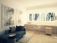 Home office on Behance