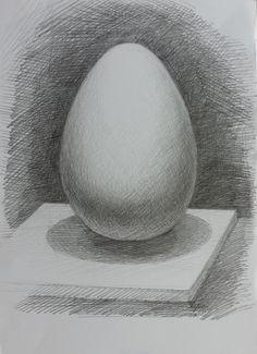 Андрей Мадекин. Занятие 2. Свето-тональный рисунок шарообразного тела