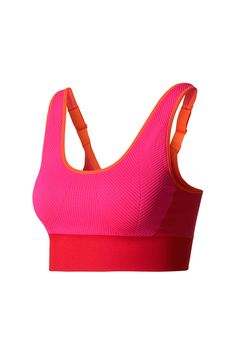 ef1a51a293c9c adidas X Stella McCartney The SL Bra Ruby Red - The Sports Edit Stella  Mccartney Adidas