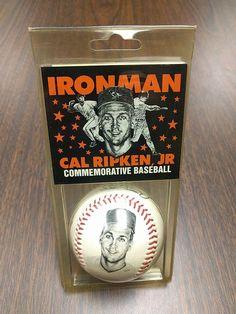 CAL RIPKEN JR IRONMAN COMMEMORATIVE STATS AUTOGRAPH BASEBALL # 2131 W/ SSCA COA   Sports Mem, Cards & Fan Shop, Autographs-Original, Baseball-MLB   eBay!