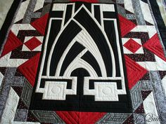 art deco quilts | Addicted To Quilts: Art Deco Quilt