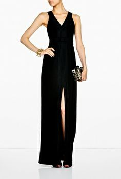 Black Long Obi Dress by Alice by Temperley