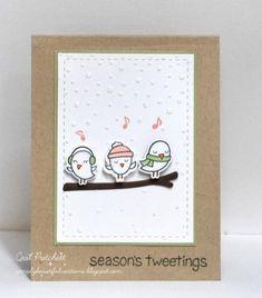 Season's Tweetings by simplybeautiful - Cards and Paper Crafts at Splitcoaststampers