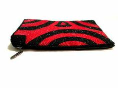 iPurse® Phone Case-Purse- Abstract Swirl Red/Wallet/Pouch / Phone case/Wallet/Evening purse/Pouch