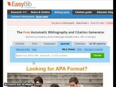 AutoCite Journal Articles - YouTube