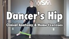 it band hip stretches - YouTube It Band Syndrome, Hip Stretches, At Home Workouts, Clinic, Anatomy, Dancer, Exercise, Youtube, Ejercicio