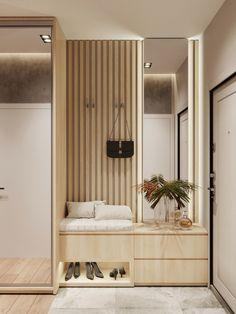Hallway Designs, Foyer Design, Hall Design, House Design, Corridor Design, Apartment Interior, Apartment Design, Living Room Interior, Home Interior Design