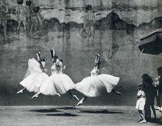 Ballet, New York City, 1938  by André Kertész