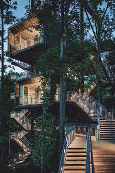 "livingpursuit: "" Sustainable Treehouse by Mithun """
