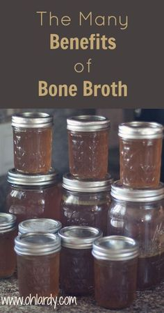 The Many Benefits of Bone Broth - Oh Lardy :: Want all the Oh Lardy awesomeness delivered right to your inbox?  Grab our newsletter here: il313.infusionsof...