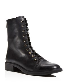 Joie Hartlyn Lace Up Combat Booties