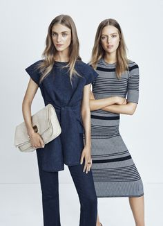 Inky blues make for a spring wardrobe refresh. Explore the collection at http://www.countryroad.com.au/shop/woman