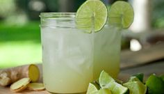 Ginger Lime Soda