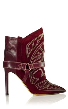 ISABEL MARANT Boots. I'm not big on boots but these are very very sexy and the color is fabulous!