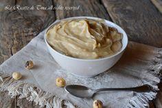 crema pasticcera alle nocciole,crema di nocciole,crema con nocciole,le ricette di tina