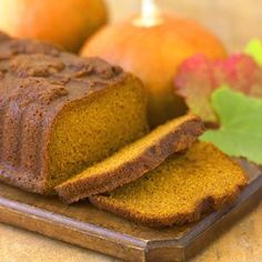 "Williams Sonoma orange-spice pumpkin bread. ""This is one of my all time favorite fall recipes. I come back to it every October-November and it's always a hit."""
