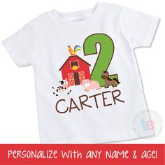 Hey, I found this really awesome Etsy listing at https://www.etsy.com/listing/202380126/little-farmer-birthday-boy-shirt