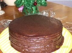 Old Fashioned Multi-Layer Chocolate Cake Recipe