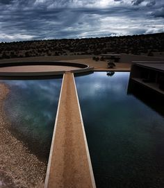 Beautiful photography... Tom Ford's ranch in Gallisteo by Tadao Ando.