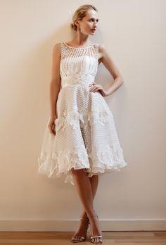 Second wedding dresses on pinterest older bride wedding for Wedding dresses second time around brides