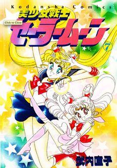First Generation Japanese Pretty Soldier Sailor Moon #7 Manga http://www.moonkitty.net/reviews-sailor-moon-original-japanese-manga.php