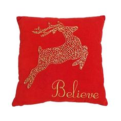 St. Nicholas Square Believe Reindeer Throw Pillow 12 in x 12 in St. Nicholas Square http://www.amazon.com/dp/B00Z6MFVR4/ref=cm_sw_r_pi_dp_EiVDvb042N57P
