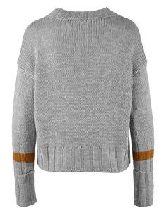 Šedý pletený svetr s prodlouženým rukávem Noisy May | Svetry a kardigany | MIKINY | SVETRY | KARDIGANY | Chicshop.cz