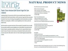 Mother Earth Living - Natural Product News: Paula\'s Choice introduces Earth Sourced vegan and gluten-free skin care collection #NaturalSkincare