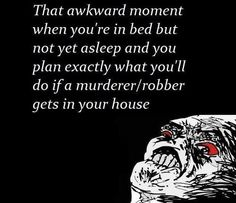 That Awkward Moment in Your Bed
