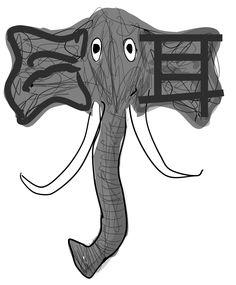 #耳 #ěr #er3 #ear #Chinese #Mandarin #Kangxi #KangxiRadical #KangxiRadicals #elephant #mnemonic #mnemonics #Hanzi