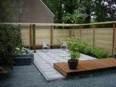 Onderhoudsvriendelijke tuin wooninspiratie 3