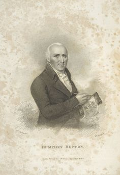 Humphry Repton from the frontispiece of his Observations on the theory and practice of landscape gardening, 1803